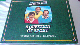 A Question Of Sport Classic Board Game BBC TV 1986