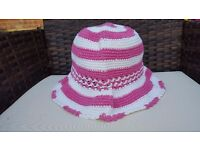 Job Lot/Wholesale 50 + Crochet Summer Hats..Boho Festival favourites