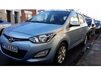 Hyundai i20. Only £30 Tax. Main dealer history. 50+ MPG