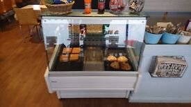 Catering cake fridge display