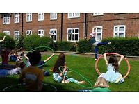 Hula Hoop Kids Party/ Hoola / Circus Birthday Party Entertainer