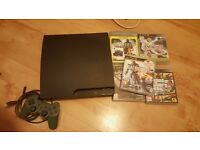 Cheap Playstation 3 with 5 games !