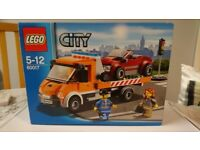 LEGO City 60017: Flatbed Truck (Retired Set)