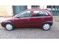 Vauxhall Corsa 1.2 petrol.5 doors.45k.mot 1 year,not Fiesta,Polo,Clio