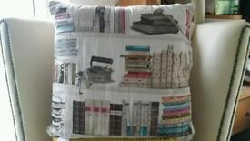 BOOK LOVER'S,Designer book cushions.