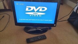 "Technica 17"" digital HD 720p TV built in DVD player"