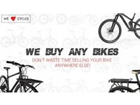 Want to Sell Your Bicycle? | Sell Bicycle Fast For Cash! | No Fees, No Hassle, Quick Sale