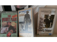Three john wayne film videos 3