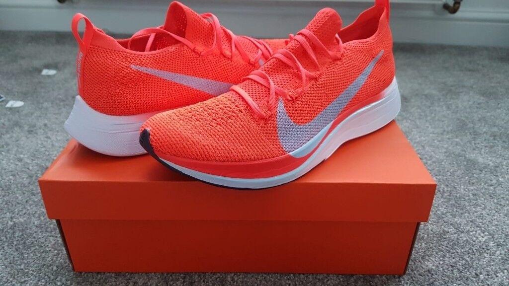 98a02ee4f067 Nike Zoom VaporFly 4% Flyknit size 9.5