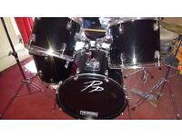 Performance Percussion Drum kit - Black
