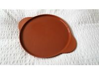 JAMIE OLIVER 'JMe' Terracotta PIZZA plate 12 inch oven-to-table