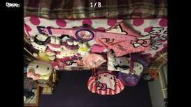 Large hello kitty bundle bedding chair toys games clock bags