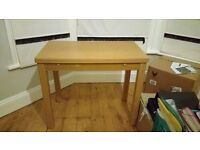 Extendable Ikea wooden table