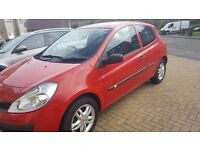 renault clio extreme 1149cc red 06 plate newshape 895 no offers would swap for 7 seater