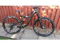2015 specialized enduro expert 29er carbon bike size M/L excellent condition