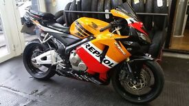 HONDA CBR600 RR / 2005 / MINT SHOWROOM CONDITION LIKE NEW / 8000 MILES FULLY RESTORED / PX WELCOME