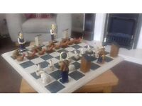 Farm Chess Set