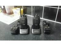 Hi-powerd kenwood walkie-talkies