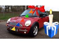 Mini HATCH Cooper 1.6 RED - The Perfect Christmas Gift !!!