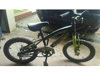 Boys bike suitable for about age 5 - 6 years. .