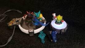 skylander figures& traps + portal