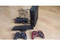 xbox360 (slim.....the ones that don't overheat!!) 250gb Hard drive + Kinnect