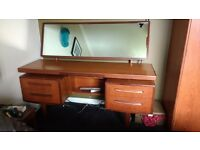 GPlan dressing table with mirror