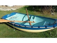 Dinghy- Handmade wooden clinker bulit dinghy