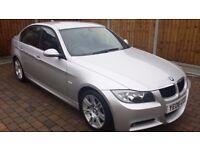 BMW 3 SERIES 2.0 318i M SPORT 4DR SUEDE-FABRIC INTERIOR-2KEY