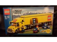 Lego. 3221. Lego container Truck. 2007. retired. unused new