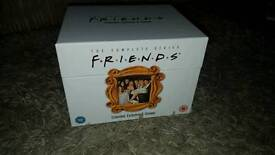 Box set of Friends dvds complete series 1-10