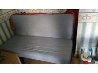 Double Futon/Sofa Bed. Excellent Condition. Inc Mattress