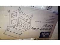 Babylo savannah bath changer unit/dresser storage