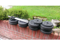 Dumbbell/ Dumbell set as pictured. Gym weight set.
