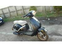 Direct bike 125 scooter moped full mot runs and rides great drive away