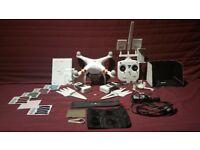 DJI Phantom 3 Standard Drone w/ ARGtek Range Extender Mod, Bag, 2 batteries, ND Filters & More