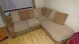 Corner sofa settee cloth