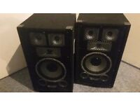 Skytec TX8 Passive Full Range 8 Inch DJ Disco House Party PA Speaker 500W Max - Collection Only.