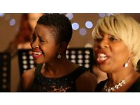 Soulful Singers & String Quartet available for Weddings, Civil Ceremonies and Drinks Reception