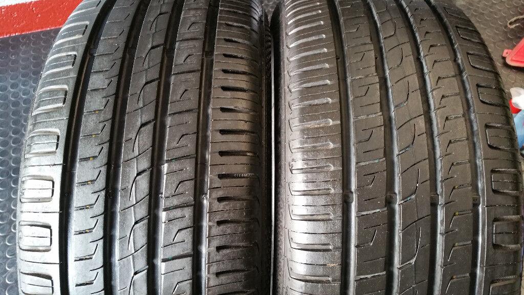 245 40 18 2 x tyres Barum Brauris 3