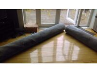 Carpet-offcuts from large room. Only £65.00 for both