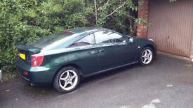 Toyota CELICA VVTI 2004, low mileage, very good condition.6mth MOT