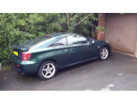 Toyota CELICA VVTI 2004, low mileage, very good condition.6mth MOT