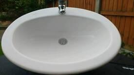 Laufen Vanity Sink & Taps