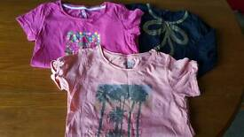 Girls tops aged 9/12 years for all tops