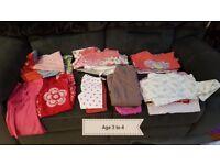 Girls bundles of clothes