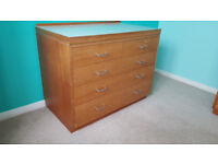 Chest of Drawers 3+2 drawers by Remploy