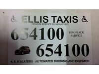 ellis taxis require back shift and weekend drivers