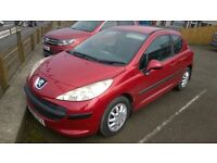 peugeot 207 hdi s 2006 re, 1.6 turbo diesel , covered only 100,000 miles, new mot on purchase
