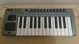 novation xio synth, audio interface, controller